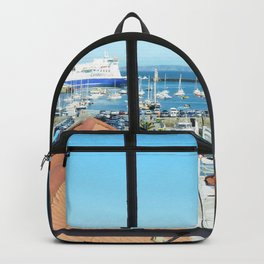 Through The Window Backpack