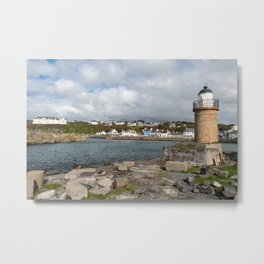 Portpatrick in Dumfries in Scotland Metal Print