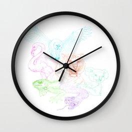 Animal mix up Wall Clock