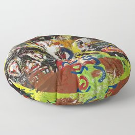 Kaos Heads Floor Pillow