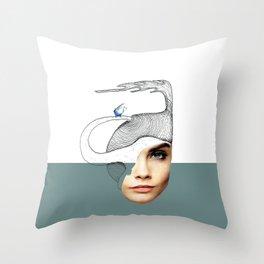 Flame Throw Pillow