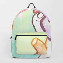 NARCISSISTIC ABUSE SURVIVOR abusive relationship art trauma painting trauma emotional physical psychological heartache Backpack
