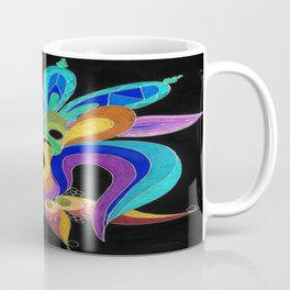 Eartha Prismacolor Inverted Coffee Mug