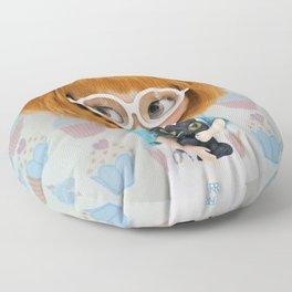 Erregiro Blythe Custom Doll Carmencita & Sócrates Floor Pillow