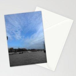 Paris La Seine Stationery Cards