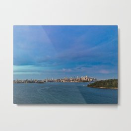 Sydney Harbour And Cityscape Metal Print