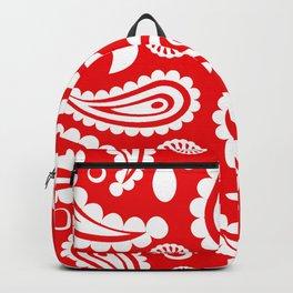 Red Hanky Code Backpack