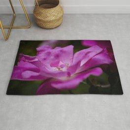Fuchsia rose Rug