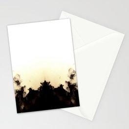 White Burst Stationery Cards