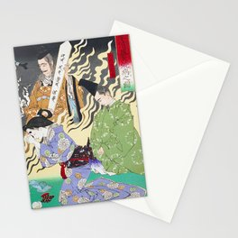Ceremony - Vintage Japanese Art Print Stationery Cards