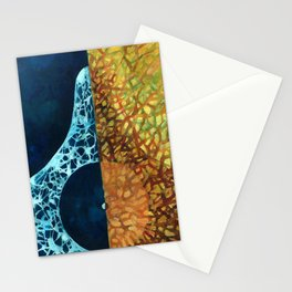 Blessed are those who mourn Stationery Cards
