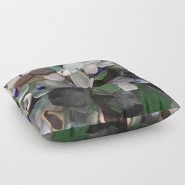 Sea Glass Assortment 3 Floor Pillow