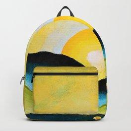 Arthur Garfield Dove - Sunrise, Northport Harbor - Digital Remastered Edition Backpack