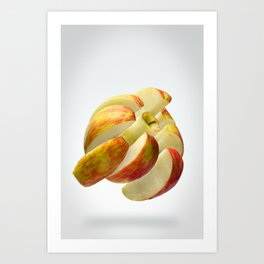 Flying Apple Art Print