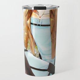 Blue Melody Travel Mug