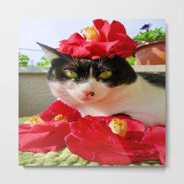 Khoshek queen of flowers Metal Print