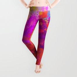 Colorful Splatter Leggings