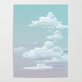 Quiet,Sea , wendy, Sky, Summer Template Poster