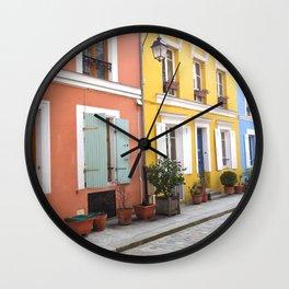 Rue Crémieux  Wall Clock