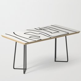 Abstract line art Coffee Table