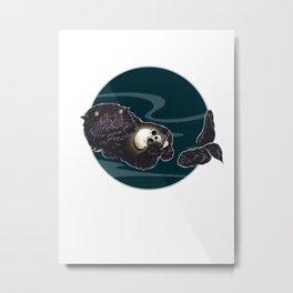 Mine Metal Print