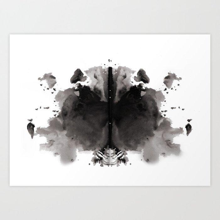 Rorschach test 4 Kunstdrucke