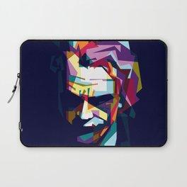 joker in colorful popart style Laptop Sleeve