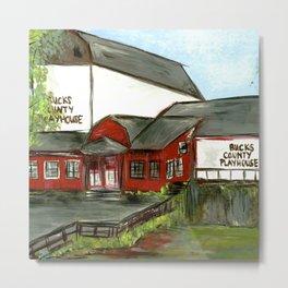 Bucks County Playhouse Metal Print