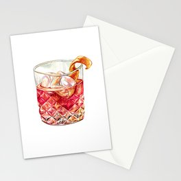 Old Fashioned Watercolor Stationery Cards