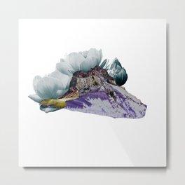 Purple Mountian Metal Print