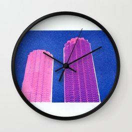 Pink Marina Wall Clock
