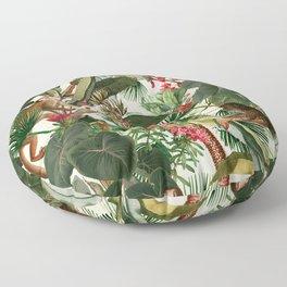 Monkey Forest Floor Pillow