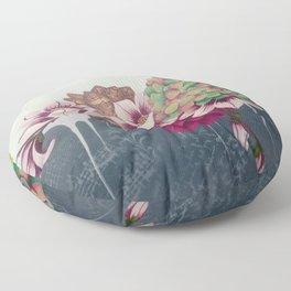 Musical Garden Floor Pillow