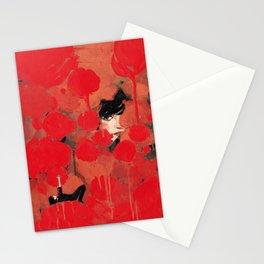 Ma rose à moi Stationery Cards