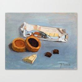 Chocolate bar Canvas Print