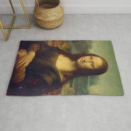 Classic Art - Mona Lisa - Leonardo da Vinci Rug