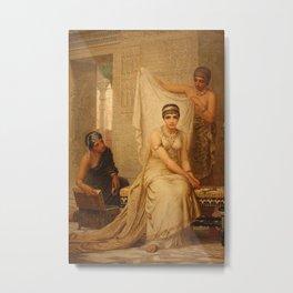 Esther by Edwin Long Metal Print
