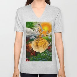 Sunkissed Unisex V-Neck
