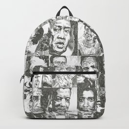 Blues Musicians Collection Backpack