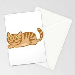 kitten four Stationery Cards