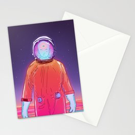 Space Dream Stationery Cards