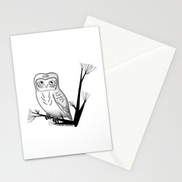 Friendly Owl Stationery Cards
