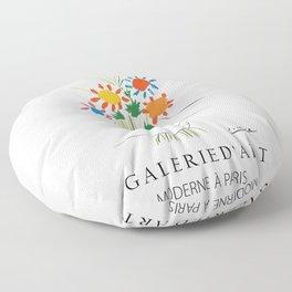 Pablo Picasso Bouquet of Peace Floor Pillow