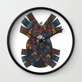 Reaching Out To Hear God's Voice Wall Clock