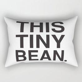 This Tiny Bean Logo Rectangular Pillow