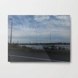 New Jersey Turnpike 2 Metal Print