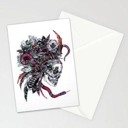 Death God Itzamna Stationery Cards