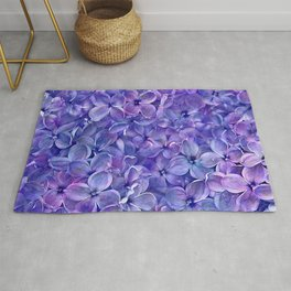 Lilac Petals Rug