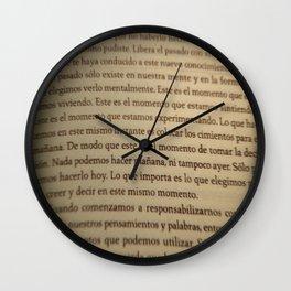 Este es el momento Wall Clock
