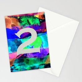 Number Two Stationery Cards